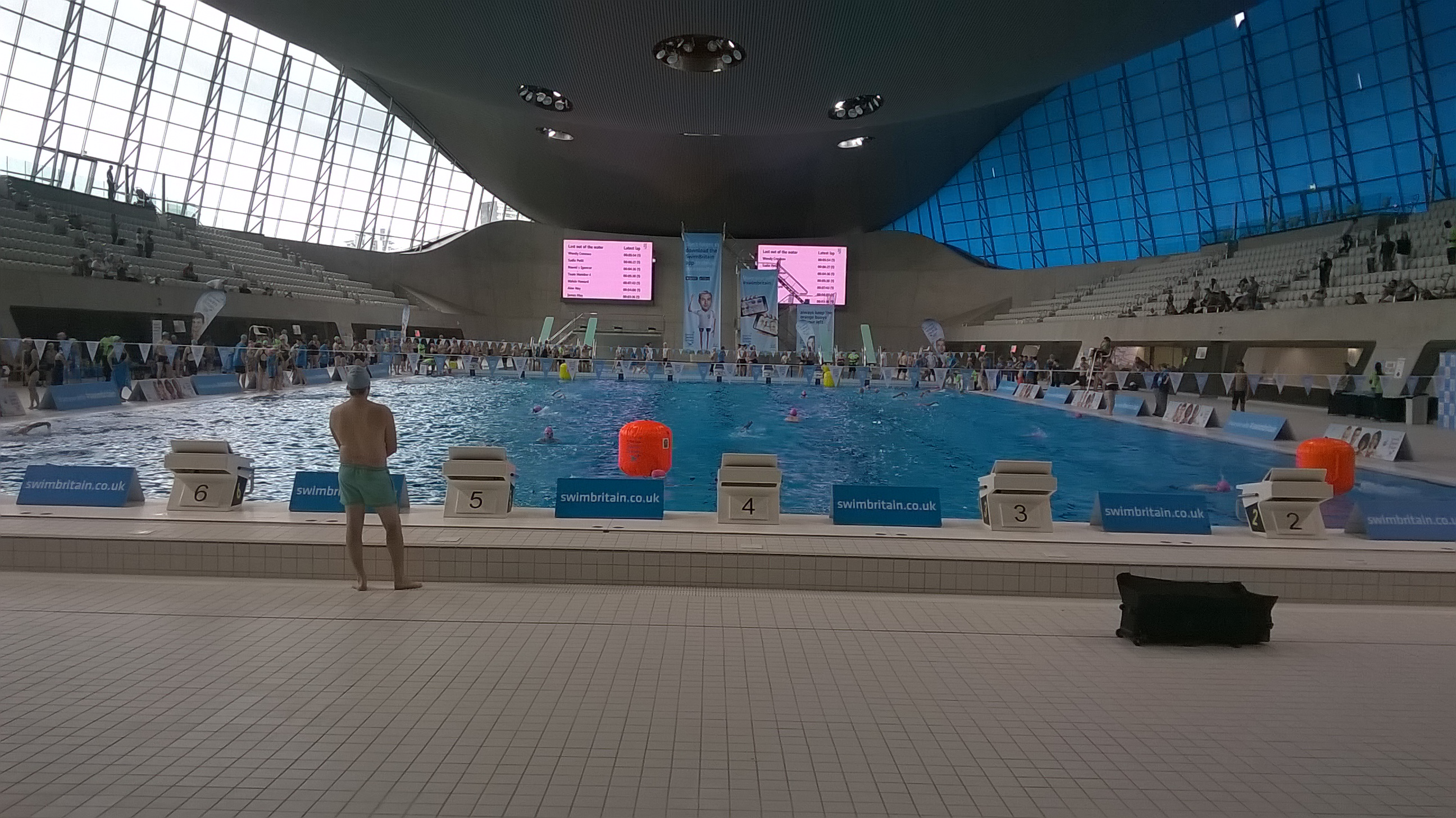 London Aquatic Centre Competition Pool