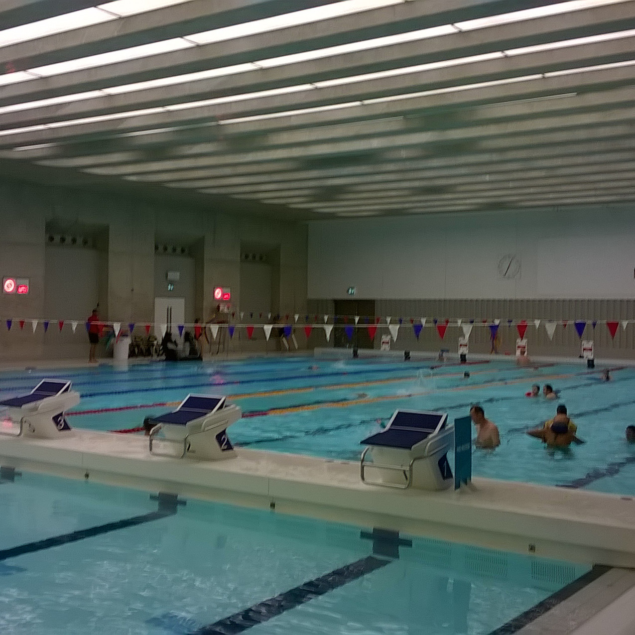 London Aquatic Centre Training Pool