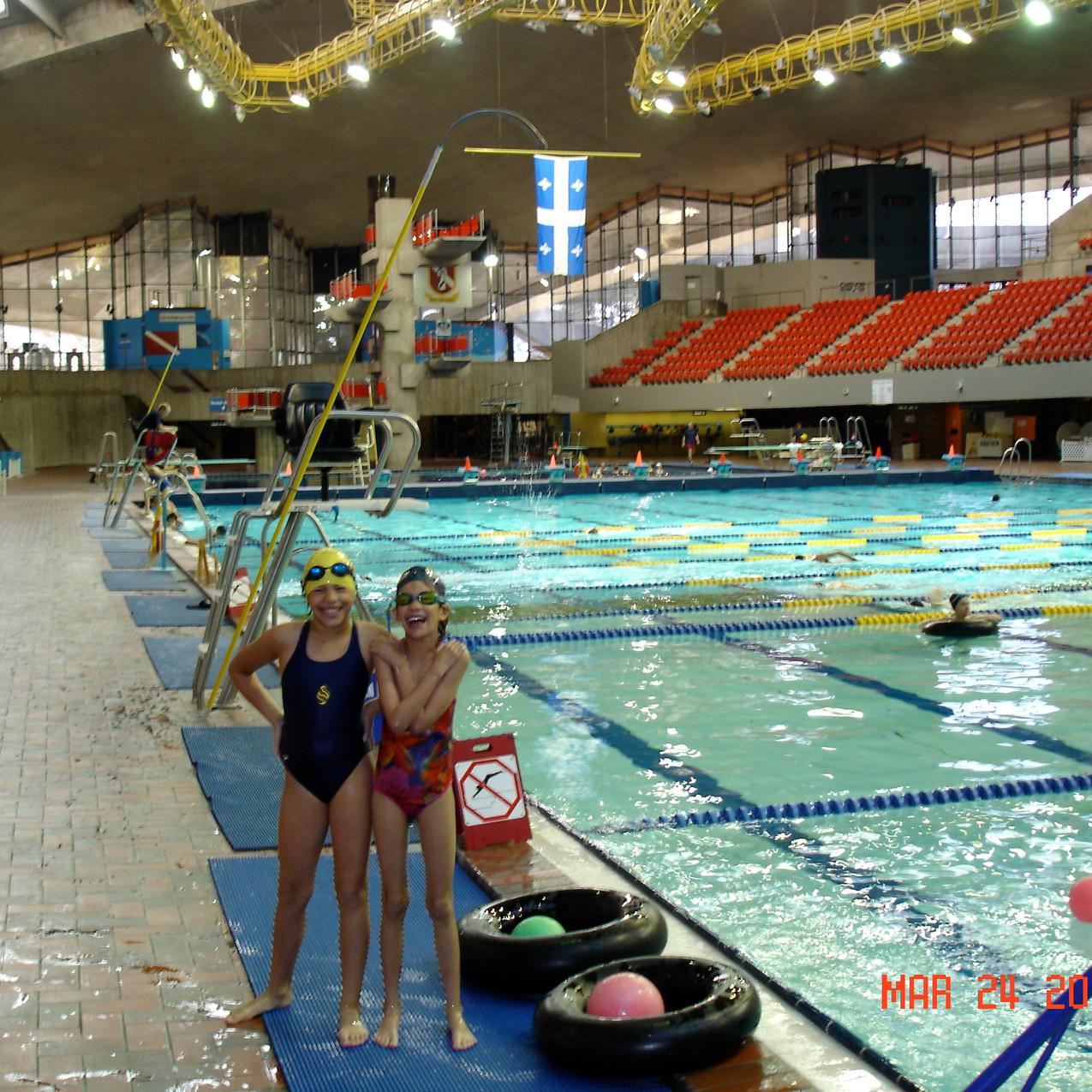 Lane #0 - Montreal Olympic Pool