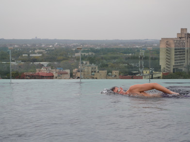Swimming the Sub-Continent