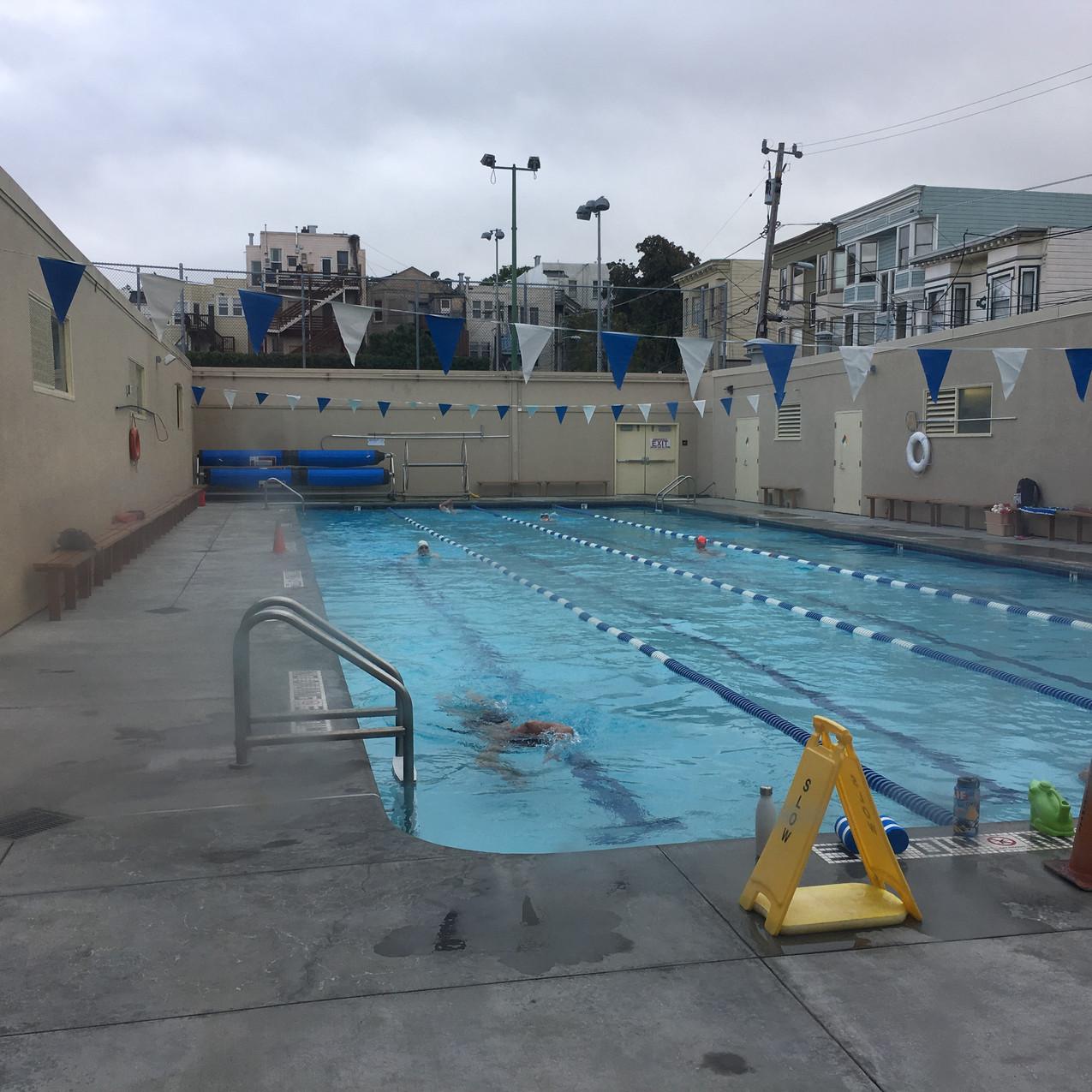 Mission Pool SF