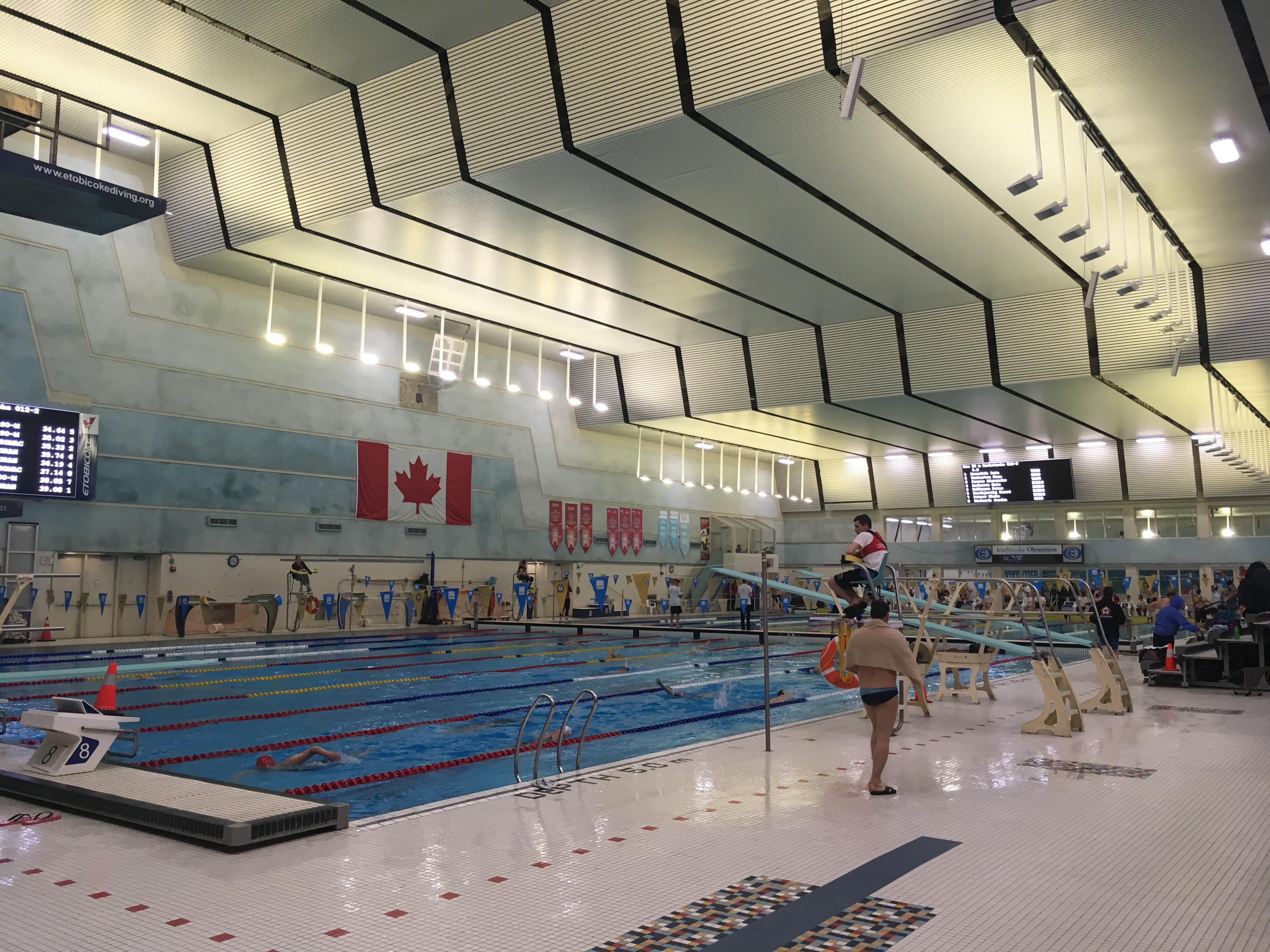 0409 - Etobicoke Olympium - 50M Pool