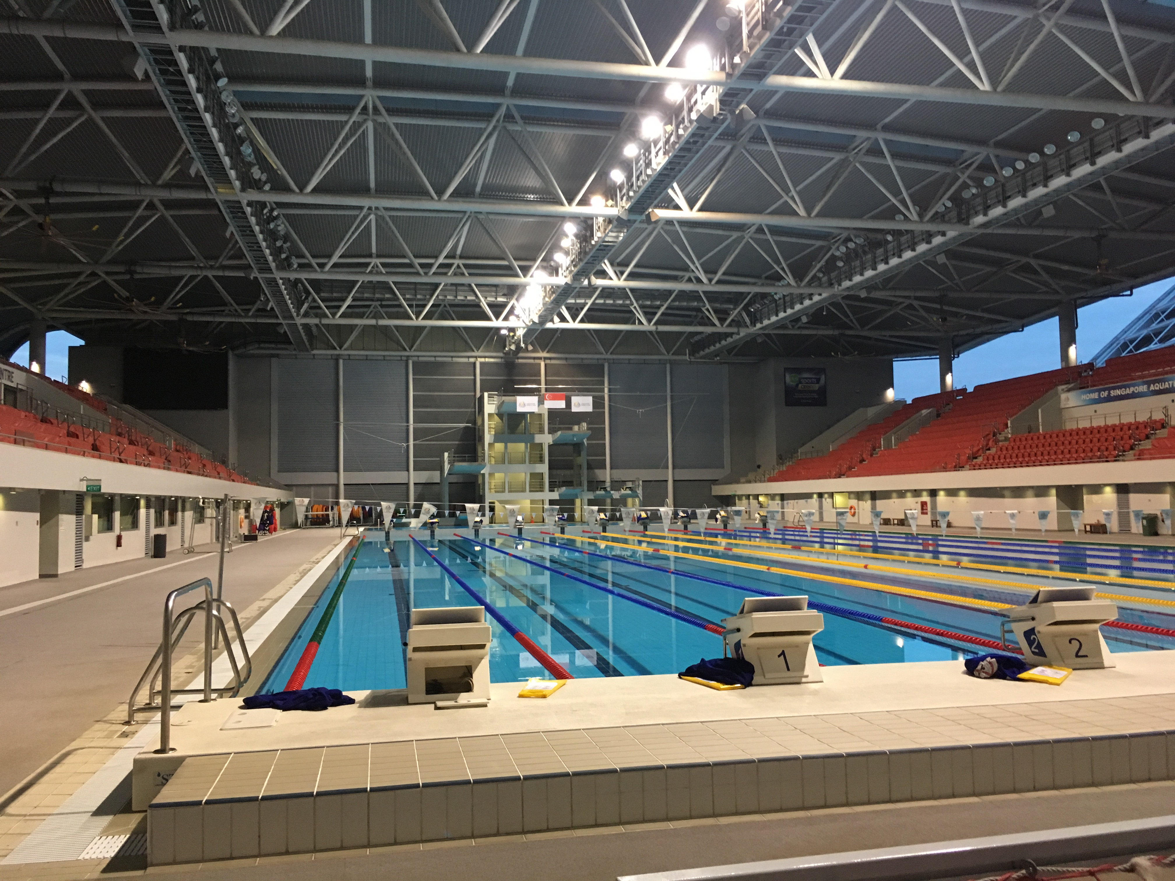 0370 - OCBC Aquatic Centre Competition Pool - Singapore