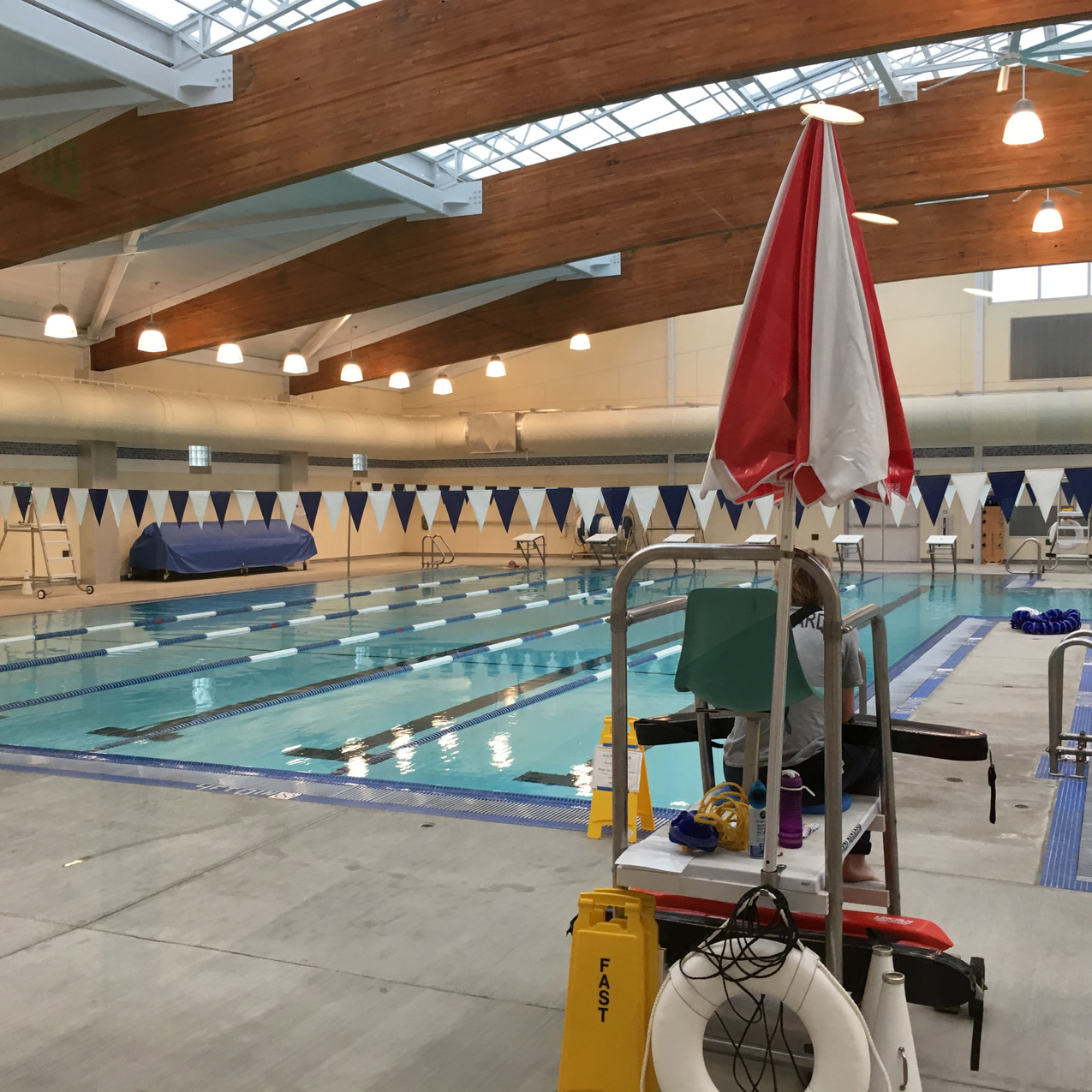 Richmond (CA) Swim Center - interior