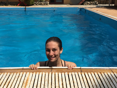 Out of Africa: Monica swims Rwanda