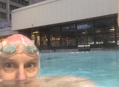 Remembering swimming