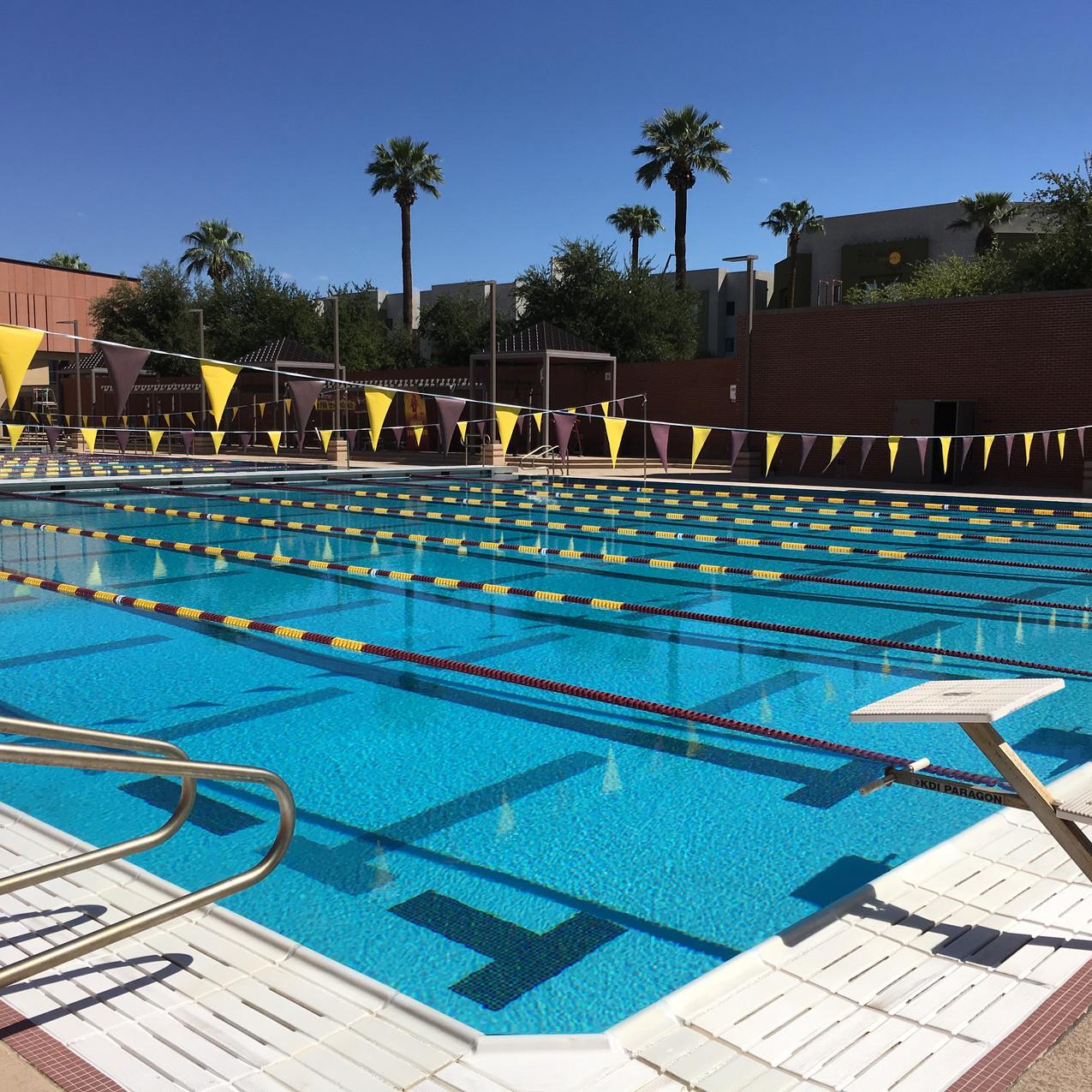 ASU Sun Devil Fitness Center - West Pool