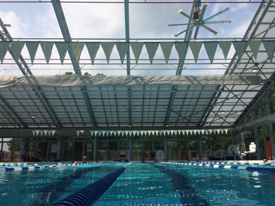 Why don't we have more pools with retractable roofs?