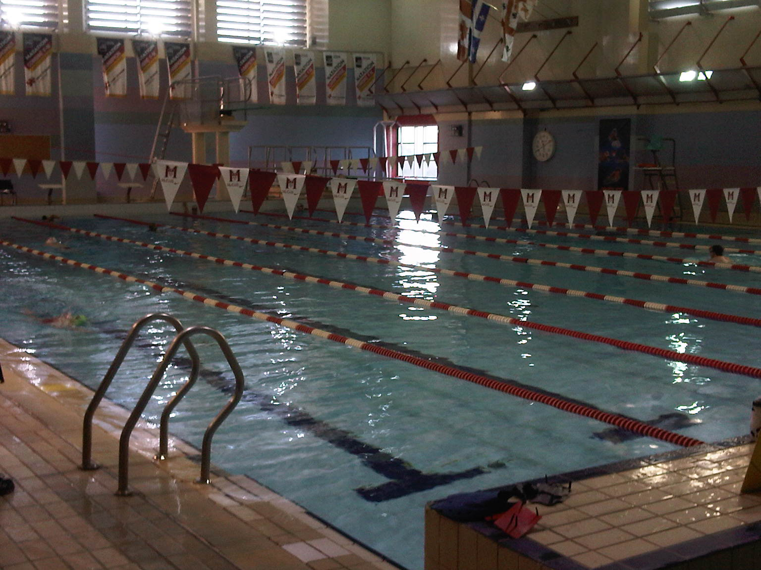 McGill University Memorial Pool