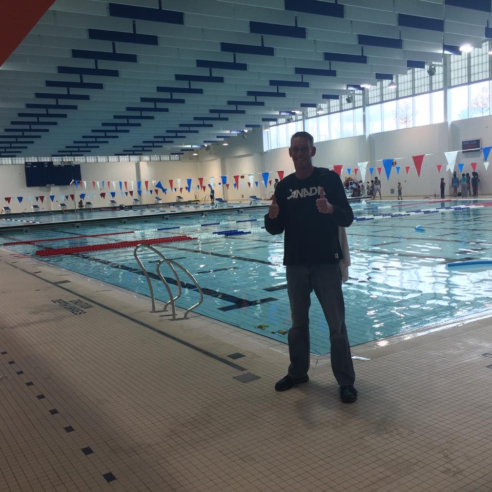 Toronto '15 Pan Ams Training Pool