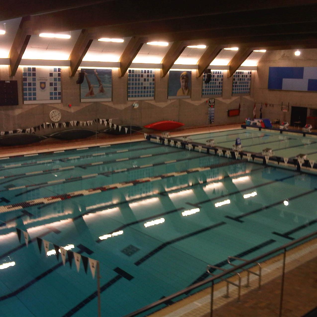 #1 - Max Bell Aquatic Centre