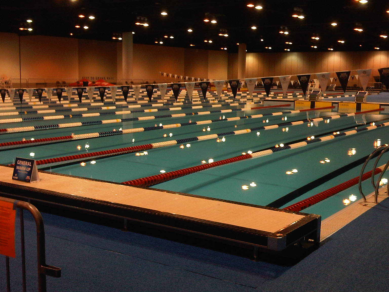 '12 Omaha Olympic Trials Warmup Pool