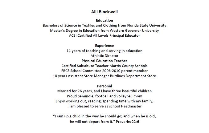 Alli Blackwell