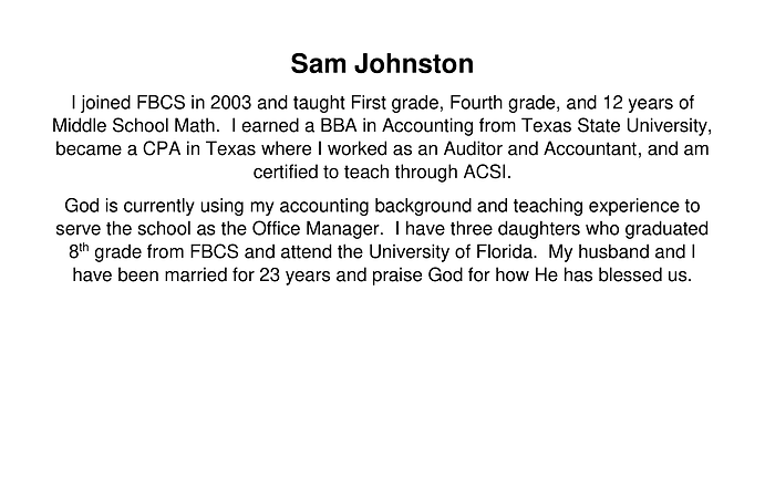 Sam Johnston
