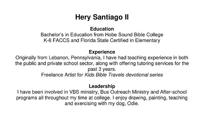 Hery Santiago