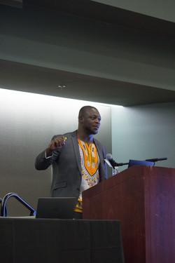 Speaker Dr. Folarin Erogbogbo