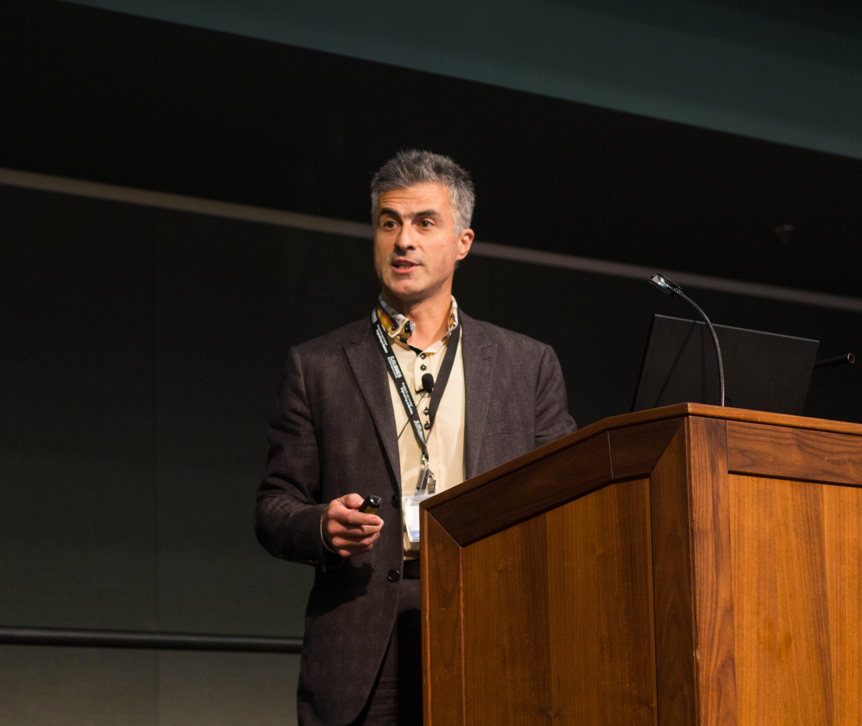 Speaker Dr. Marius Florescu