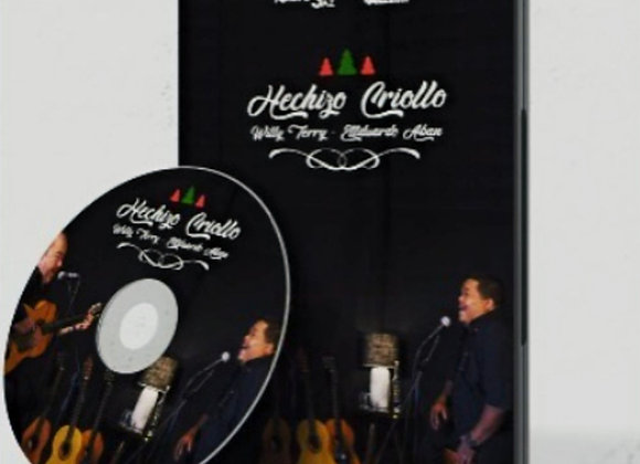 "DVD Hechizo Criollo - Eduardo ""Papeo"" Abán y Willy Terry"