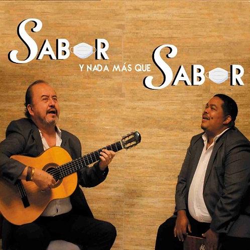 """Cd Sabor y Nada Más Que Sabor - Eduardo """"Papeo"""" Abán y Willy Terry"""