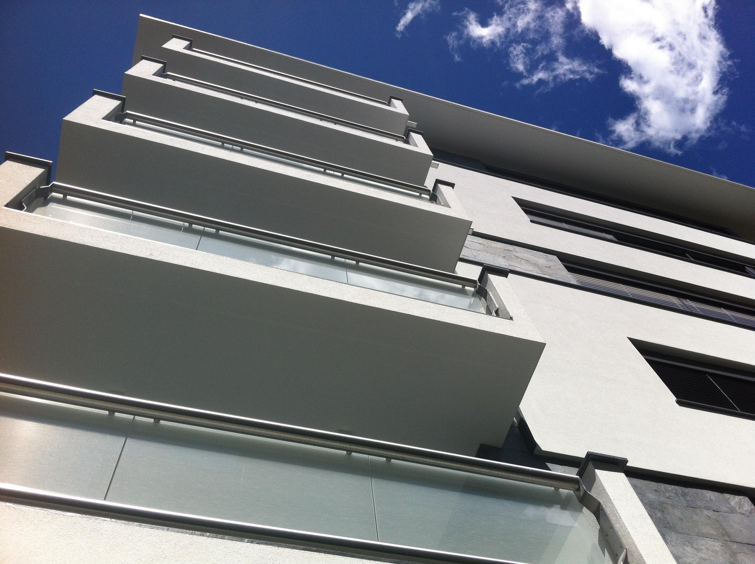 Vista balconi facciata sud