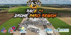RACE #1 DRONE PARIS REGION le 29 Sept 2018