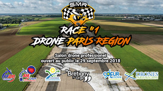 RACE #1 DRONE PARIS REGION le 29 Sept 2018