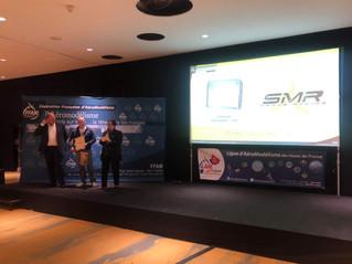 Le SMR récompensé du trophée Jean Ganier par la FFAM
