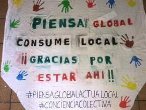 "CAMPAÑA ""PIENSA GLOBAL, CONSUME LOCAL"""