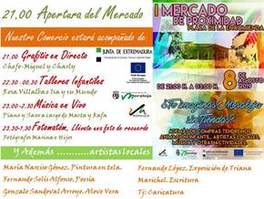 1º MERCADO DE PROXIMIDAD 2019 EN MORALEJA (CACERES)
