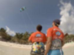 kitesurfing beginner lesson tulum