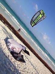 kitesurfing tulum