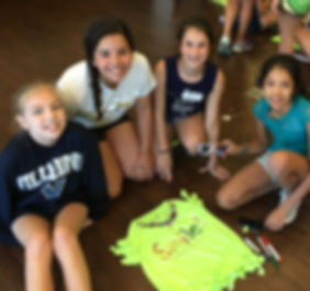 girls elemenatry school summer fun camp