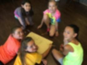 High school girls camp