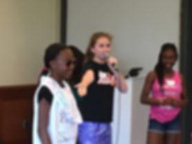 girls summer fun camp