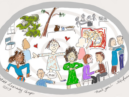 Capturing an Event: the Gestalt Learning Camp