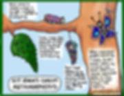 Visual bio for Kit Irwn as a metamorphosis metaphor