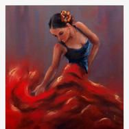Flamenco dancer 50