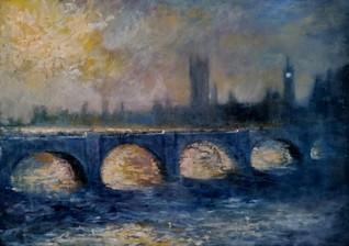 The Bridge on the Thames, London £850