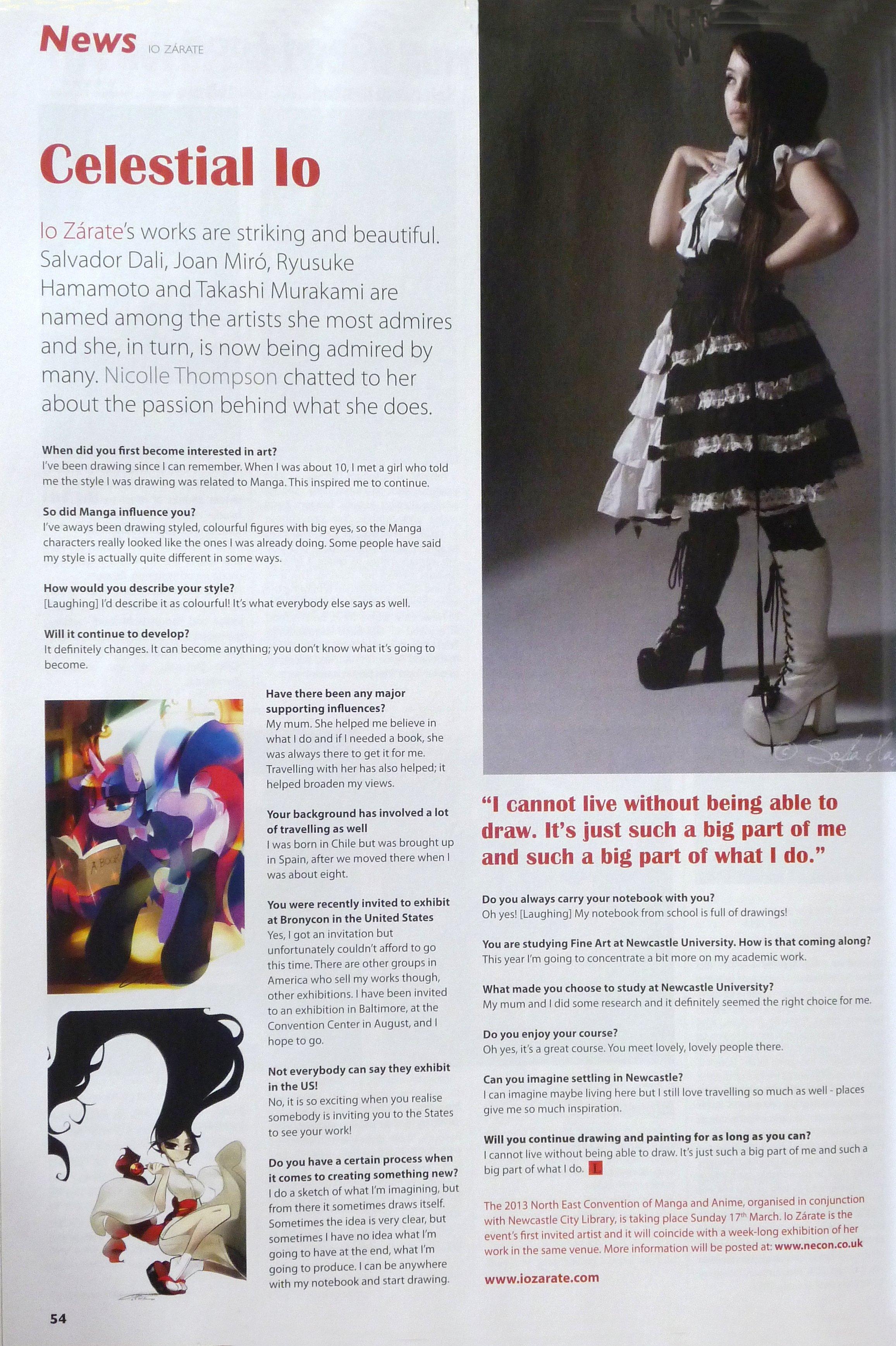 Interview Jan 2013