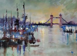 Sun Down Tower Bridge, London  £400