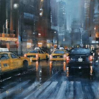 City never sleep, New York