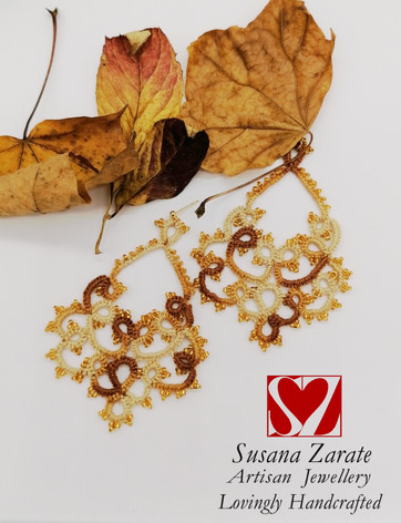 Autumn Frivolite Earrings £32