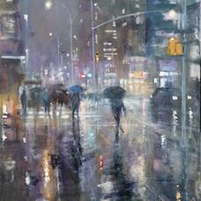 Rain in New York too
