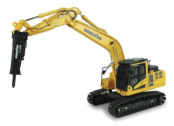 Komatsu PC210 LC-11 Excavator with Hammer Drill