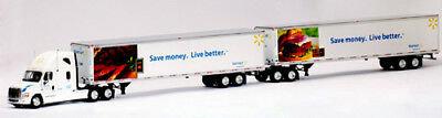 Freightliner Cascadia Walmart Double