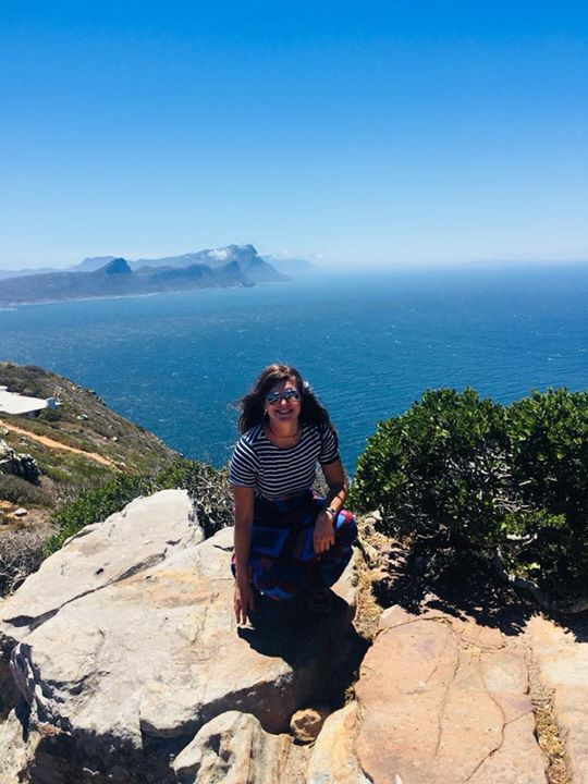 At the top of Cape Point