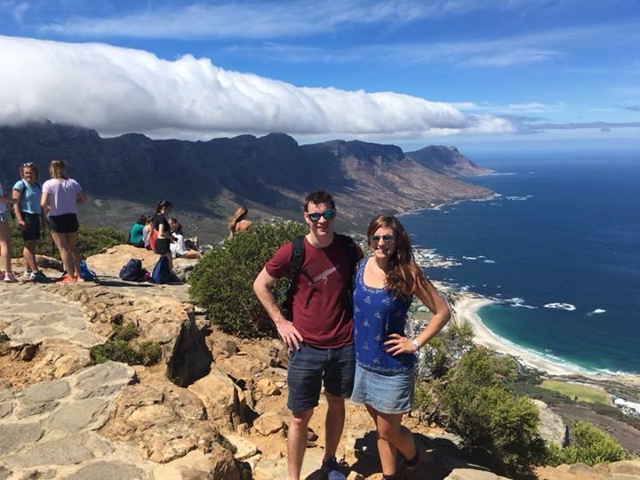 At the top of Lions Head