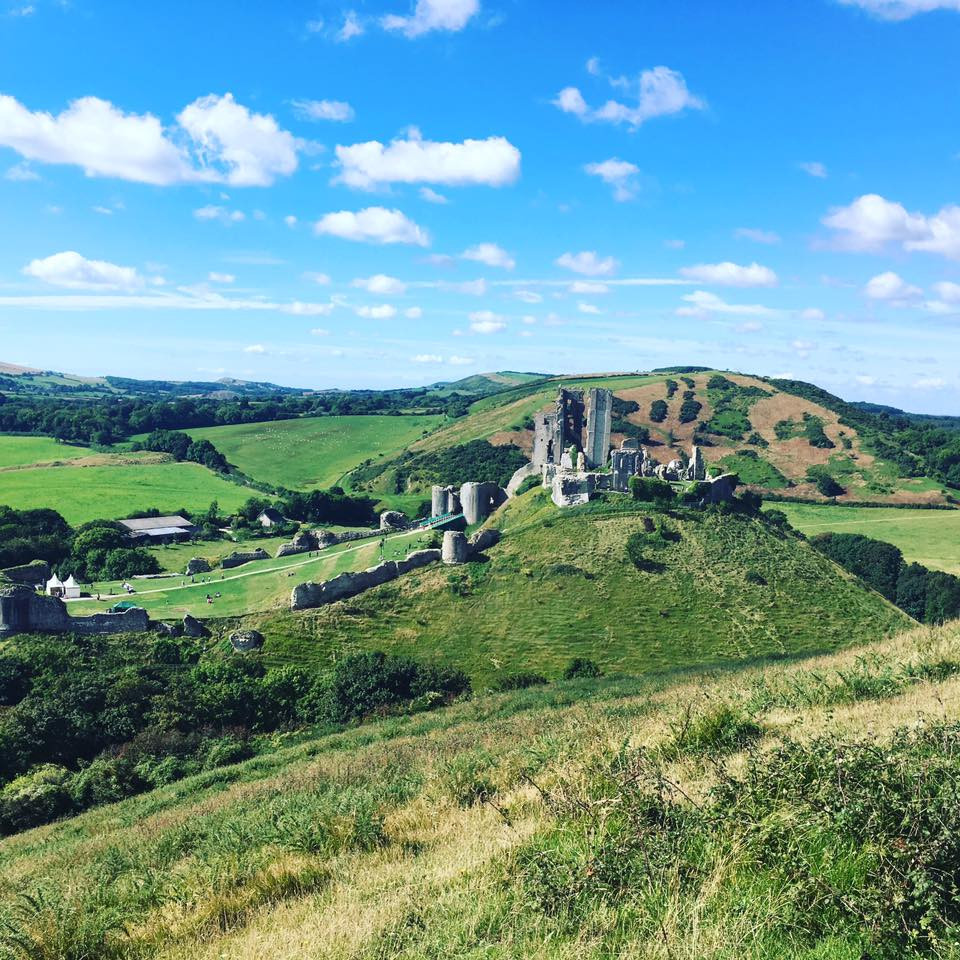 Beautiful Corfe Castle