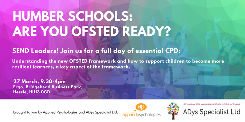 SEND Leaders: Are you OFSTED ready?