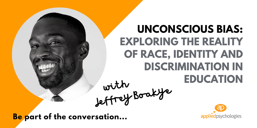 Unconscious Bias: Exploring Race, Identity And Discrimination In Education